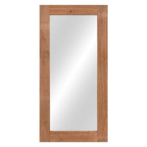 Patton Wall Decor 20x40 Modern Shaker Wood Wall Mounted Mirrors, -