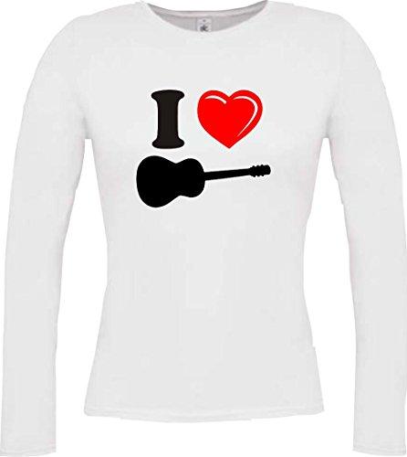 Krokodil - Camiseta - Casual - Cuello redondo - Manga Larga - Mujer blanco