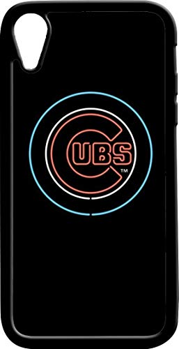 (iPhone XR Chicago Cub Phone Case, Apple iPhone XR Case with Heavy Duty Protection/Shock Absorption/Soft TPU )