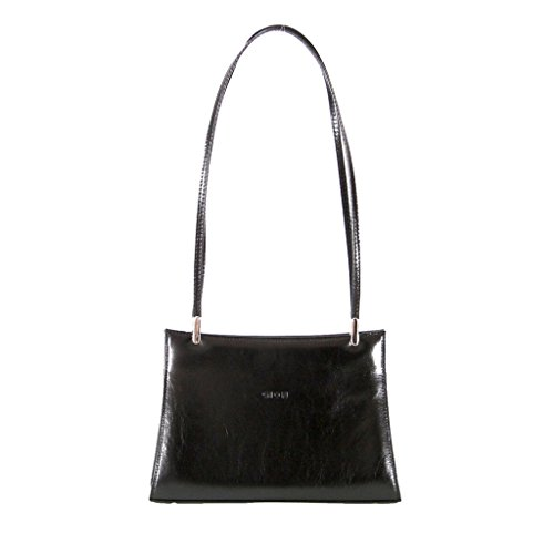 GION Yvett Women Leather Evening Bag by GION leather goods