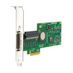 SC11XE 1CH Pcie X4 U320 LVD 1-VHDCI68 EXT/1-68PIN Int Std/lp by HP
