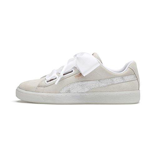 Puma Heart puma Donna Artica da White Scarpe Basse White Ginnastica 01 Puma Wn's Bianco Suede r5wR4qr