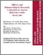 HIPAA and human subjects research: A question & answer