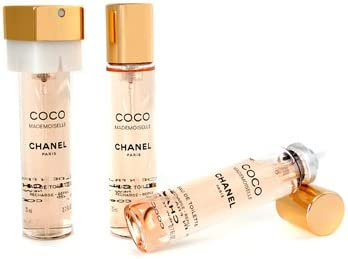 f98dfdf4 Chanel Coco Mademoiselle Twist & Spray Eau De Toilette Refill - 3x20ml/0.7oz