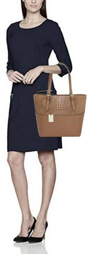 Tote Classic Italy Main Taille Sacs Unique Cuir À M2111 Taupe Femme O4dq41