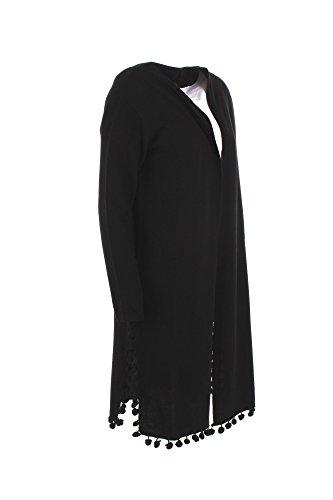 Cardigan Donna Max Mara 2XL Nero Pacca Autunno Inverno 2017/18