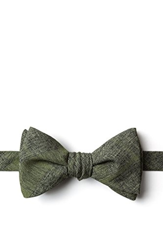 Kirkland Olive Cotton Butterfly Bow (Wild Ties Olive)