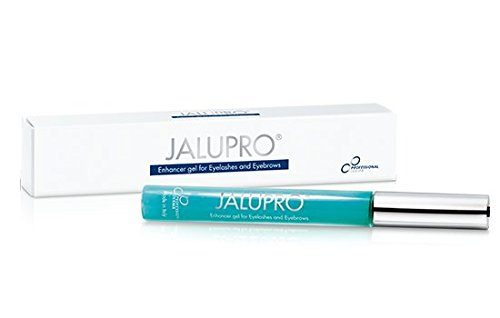 Jalupro Enhancer Gel for Eyelashes and Eyebrows, Eyelash Growth Enhancer Serum with Red Clover Extract