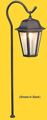 Corona CL-636-VG -Low Voltage/ 12V Area Light Aluminum Italian Lantern, Verde Green