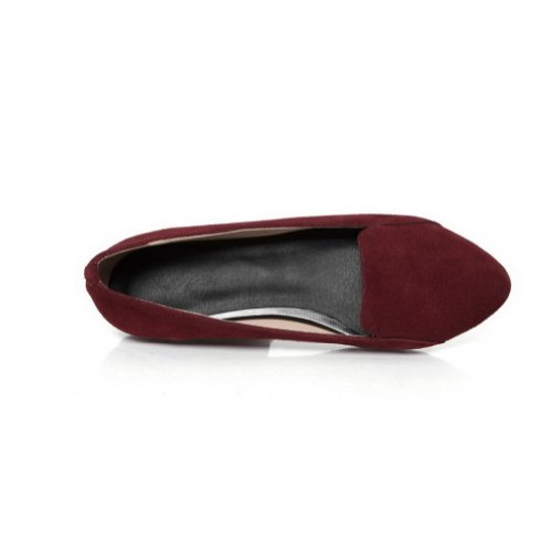 VogueZone009 Womans Closed Pointed Toe Flats Tommy Hilfiger Frosted, Datered, 4.5 UK