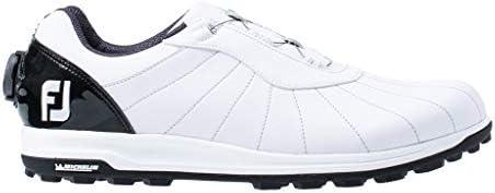 ゴルフシューズ FJ TREADS Boa メンズ ホワイト/ブラック (19) 27.5 cm 3E 56213J