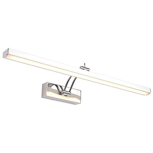 Mirror light XUERUI Luz del Espejo Acero Inoxidable + Aluminio 8-12W LED Luz Blanca Cuarto De Baño Baños 50 Cm / 60 Cm / 70...