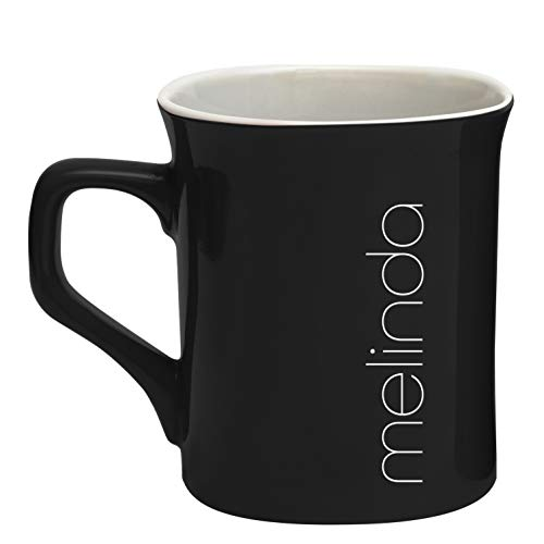 (Personalized Ceramic Coffee Mug Modern Custom Name (D20))
