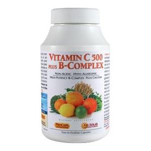 Vitamin C 500 Plus B-Complex 180 Capsules