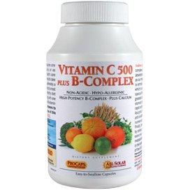 Vitamin C 500 plus B-Complex 360 Capsules by Andrew Lessman