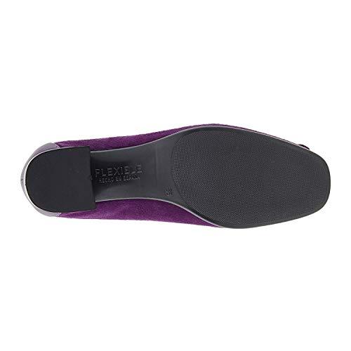 Dkt Des Clous Violet Diamants Franges Cuir Chaussures En fqRrTy4fOp