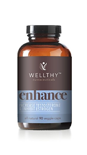 Enhance Testosterone - Wellthy Enhance Testosterone Support 90 Capsules