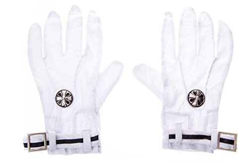 Mtxc D.Gray-Man Cosplay Accessories Allen Walker Gloves, used for sale  Delivered anywhere in USA