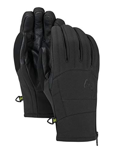 Burton AK Tech Glove, True Black W20, - Ak Tech Glove