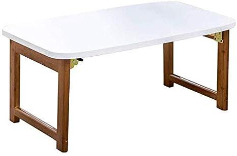 WYJW Laptop Bed Table Bamboo Plegable Bandeja portátil ...
