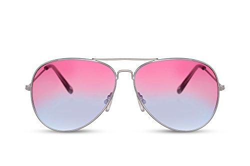 400 Plateado Cheapass UV Ca 009 Gafas Hombres Gafas Piloto Espejadas Aviador Metálicas Diseñador de Sol Mujeres rr08BZ