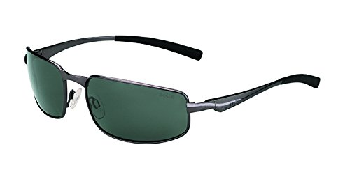 Bolle Everglades Sunglass with Polarized TNS Oleo AF Lens, Shiny - Sunglasses Bolle Polarized Men's