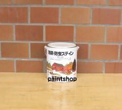 ロックペイント 屋外木部用 ナフタデコール 0.7L エボニー