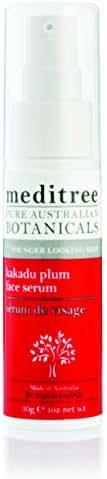 NaturesPlus Meditree Pure Australian Botanicals Kakadu Plum Face Serum - 1 oz- Face Serum for Younger Looking Skin - Vitamin C Rich - Skin Brightening, Soothing, Conditioning - Natural, Vegan