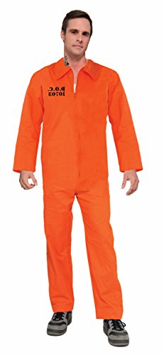 Forum Novelties Adult Orange Prison Suit Unisex Costume -