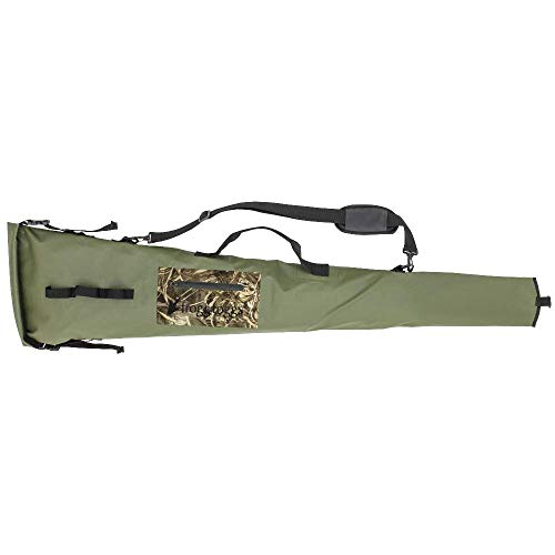 Frogg Toggs FTX Gear Polyester PVC Floating Gun Case, Green/Realtree Max-5 FTX Gear Polyester PVC Floating Gun Case, Green/Realtree Max-5 ()