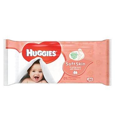 Huggies toallitas para bebé suave piel Singles 56