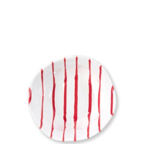 - Vietri Stripe Red Berry Bowl