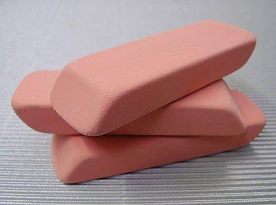 Pink Rubber Eraser (Pink Pearl) SINGLE ERASER