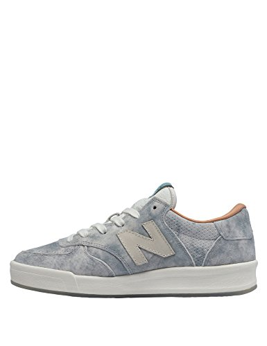 New Balance Women's Classics 300 Women's Grey Leather Sneakers In Size 39 Grey