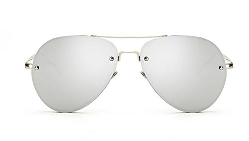 GAMT Aviator Sunglasses for Women Metal Frame Eyeglasses - Eyeglasses Framed White