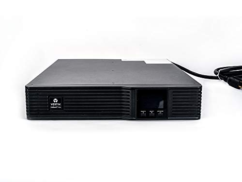 Vertiv Liebert 5000VA 4500W 208V Advanced AVR Line-Interactive UPS with LCD Display, Pure Sine Wave, 2U Rackmount/Tower, Supports Active PFC (PSI5-5000RT208)