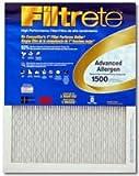 "3m Allergen Reduction Filter Advanced, Electrostatic 14 "" X 25 "" X 1 "" Electrostatic 1700 Mpr"