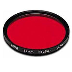 Hoya 52mm Red 25A Filter