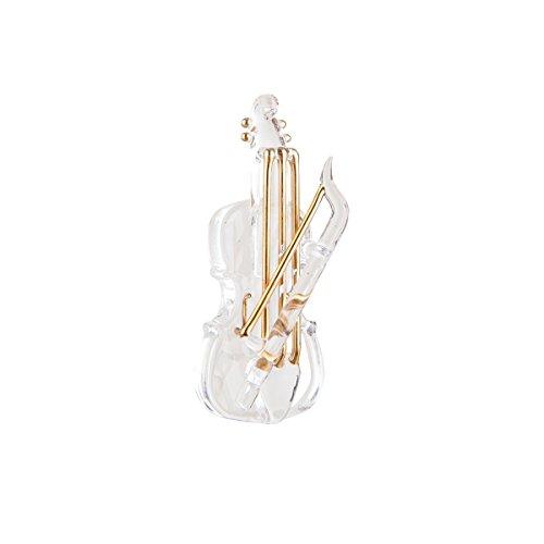 Glass Violin - Glass Violin Ornament 4
