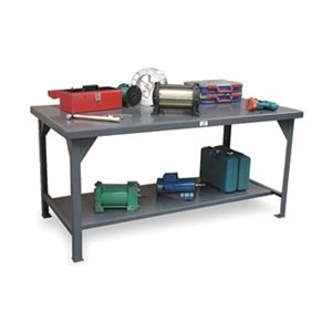 Stronghold, Extra Heavy Duty Work Bench With 7 Guage Top - In Stock Items, Kca-6036, W X D X H: 60 X 36 X 34, Unit Weight: 273, Capacity: 8250, T6036 (Extra Workbench Duty Heavy)