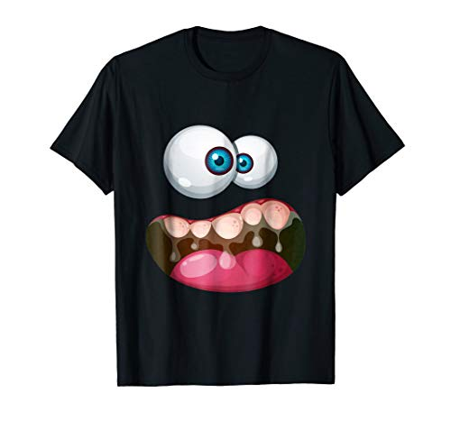 Funny Face Halloween T-Shirt For Men And Women