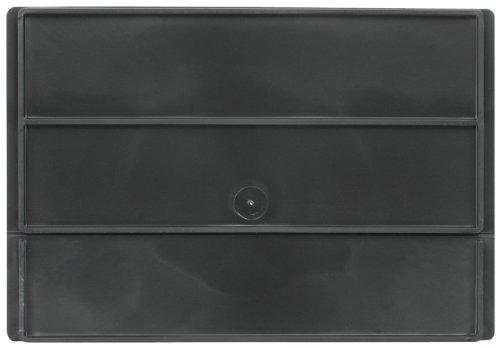 Akro-Mils 41480 Divider for 31182 and 31188 AkroDrawer Plastic Storage Drawer, Black, Pack of - Euro Drawers