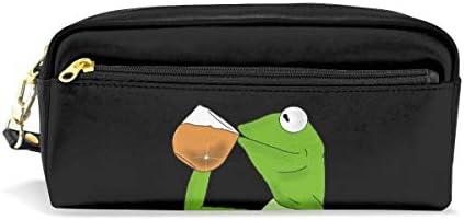Kermit - Estuche para lápices, diseño de rana: Amazon.es ...
