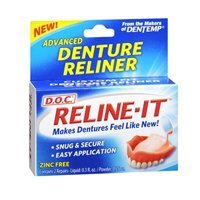 D.O.C. Reline-It Advanced Denture Reliner Kit by Majestic