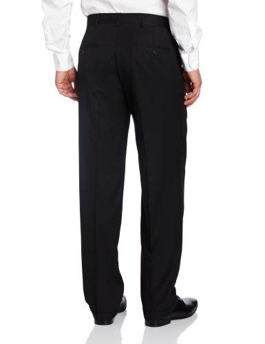 Haggar Men's Solid Pleat-Front Suit Separate Pant