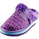 Girls Skechers BOBS mule slipper keepsakes Toezies size uk 9.5 eur 27 purple multi