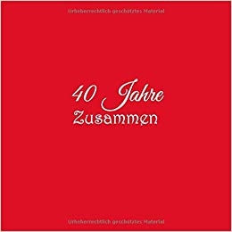 40 Hochzeitstag Geschenk Schieferuhr Oder Schieferbild Motiv11