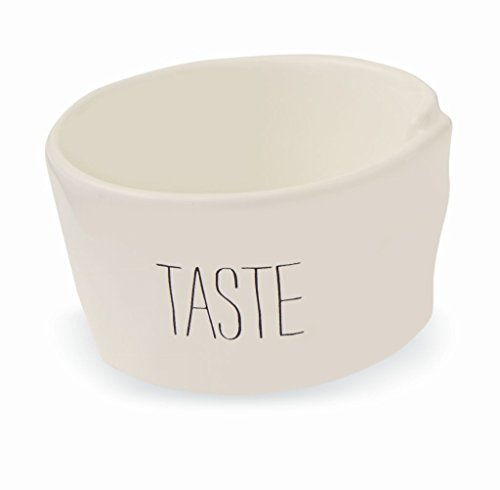 Mud Pie Circa Dining Bistro Ceramic Ramekins (Taste) by Mud Pie