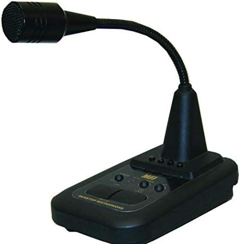 WORKMAN DM502B LAANTEK DTM502 CB HAM POWER AMPLIFIED DESK DESKTOP MICROPHONE