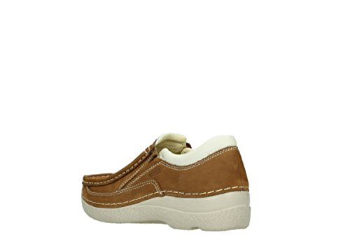 Wolky Comfort Slippers Roll Sneaker 10410 tobacco Nubuk